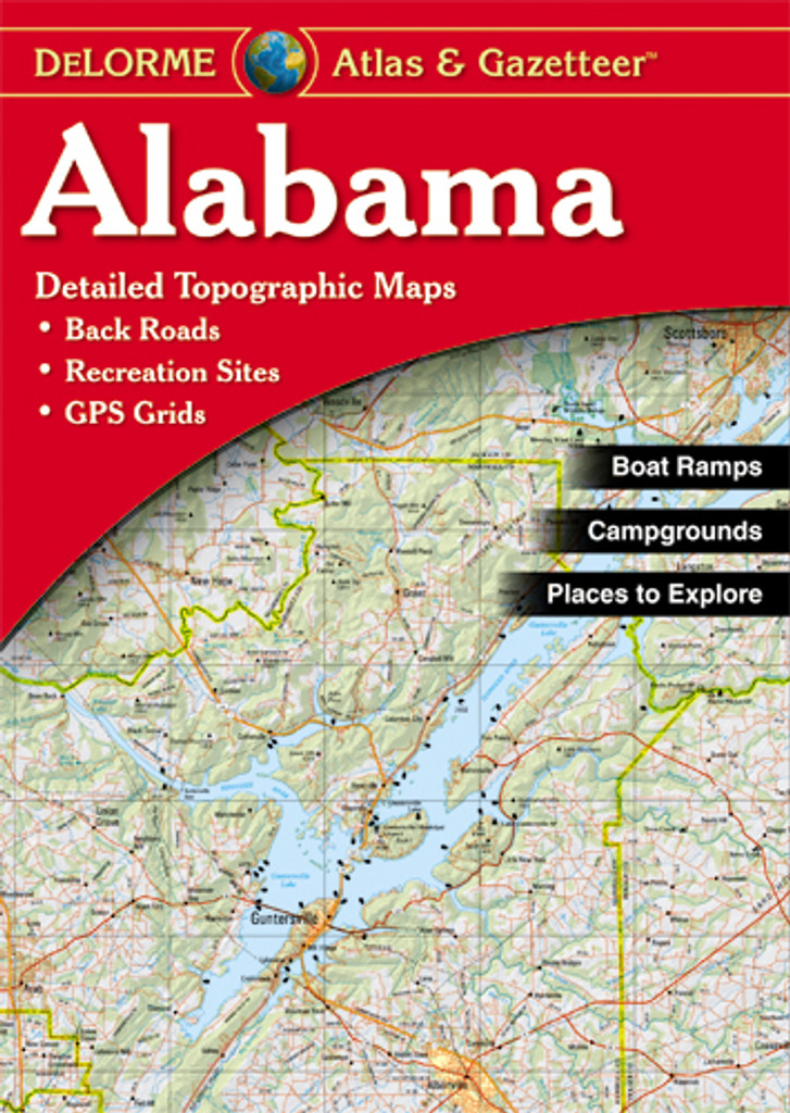 DeLorme Atlas & Gazetteer: Alabama