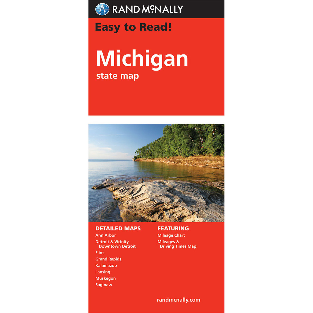 Easy To Read: Michigan State Map