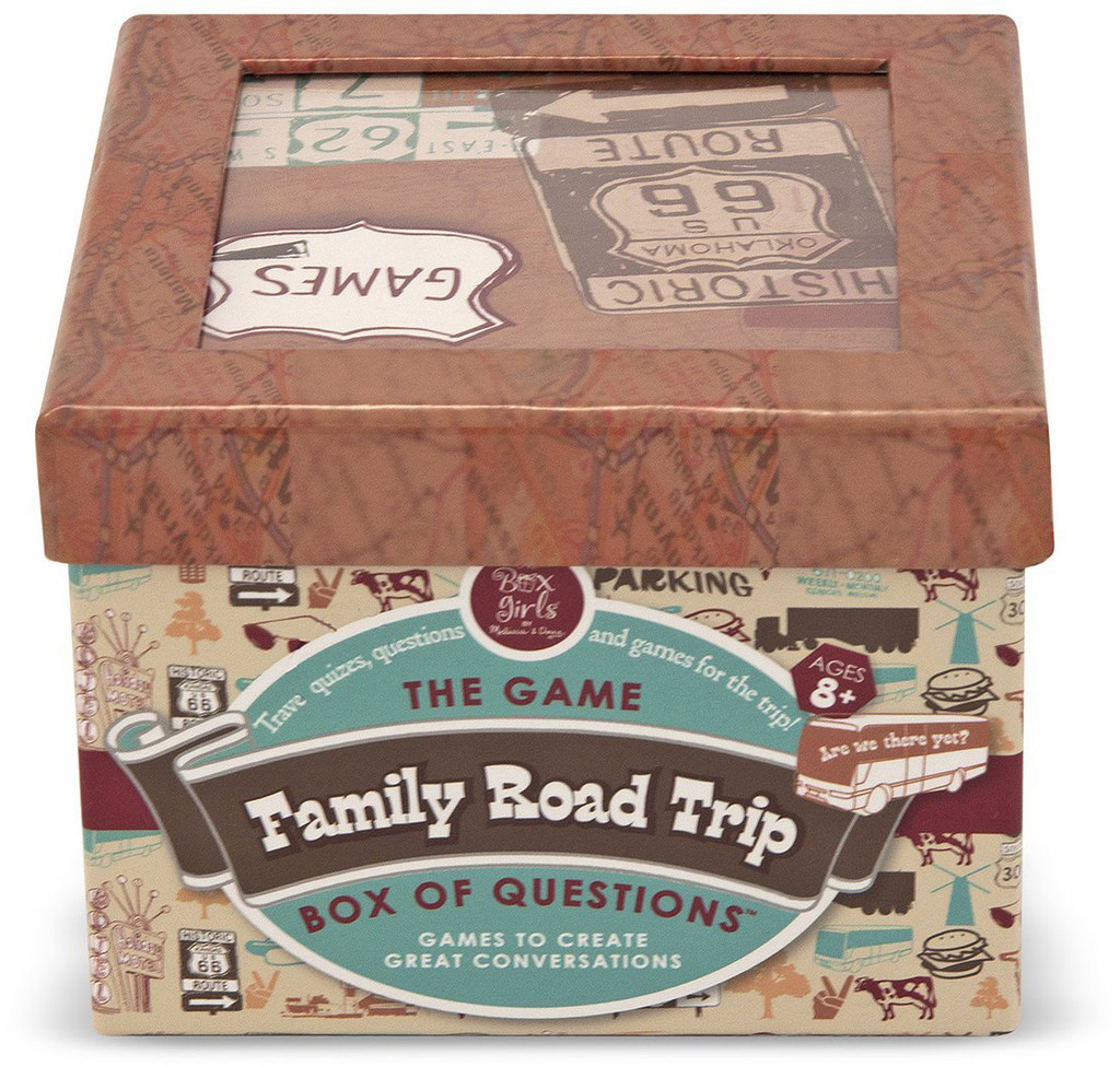 Family Road Trip - Box of Questions