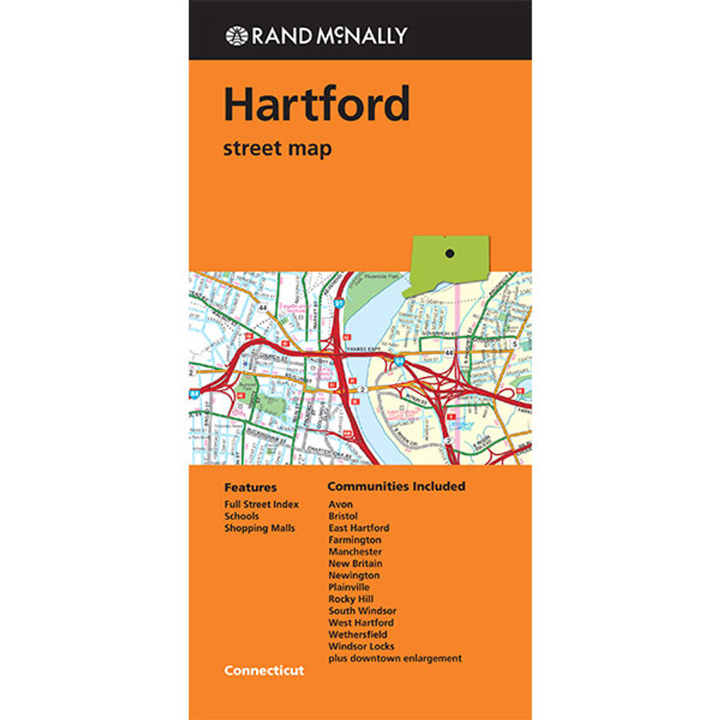 Folded maps hartford folded map hartford street map publicscrutiny Images