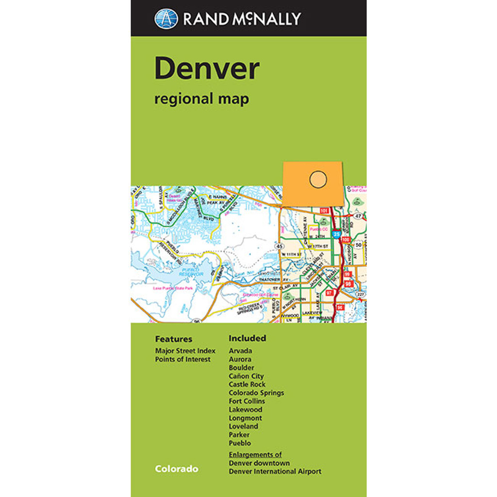 Folded Maps Denver
