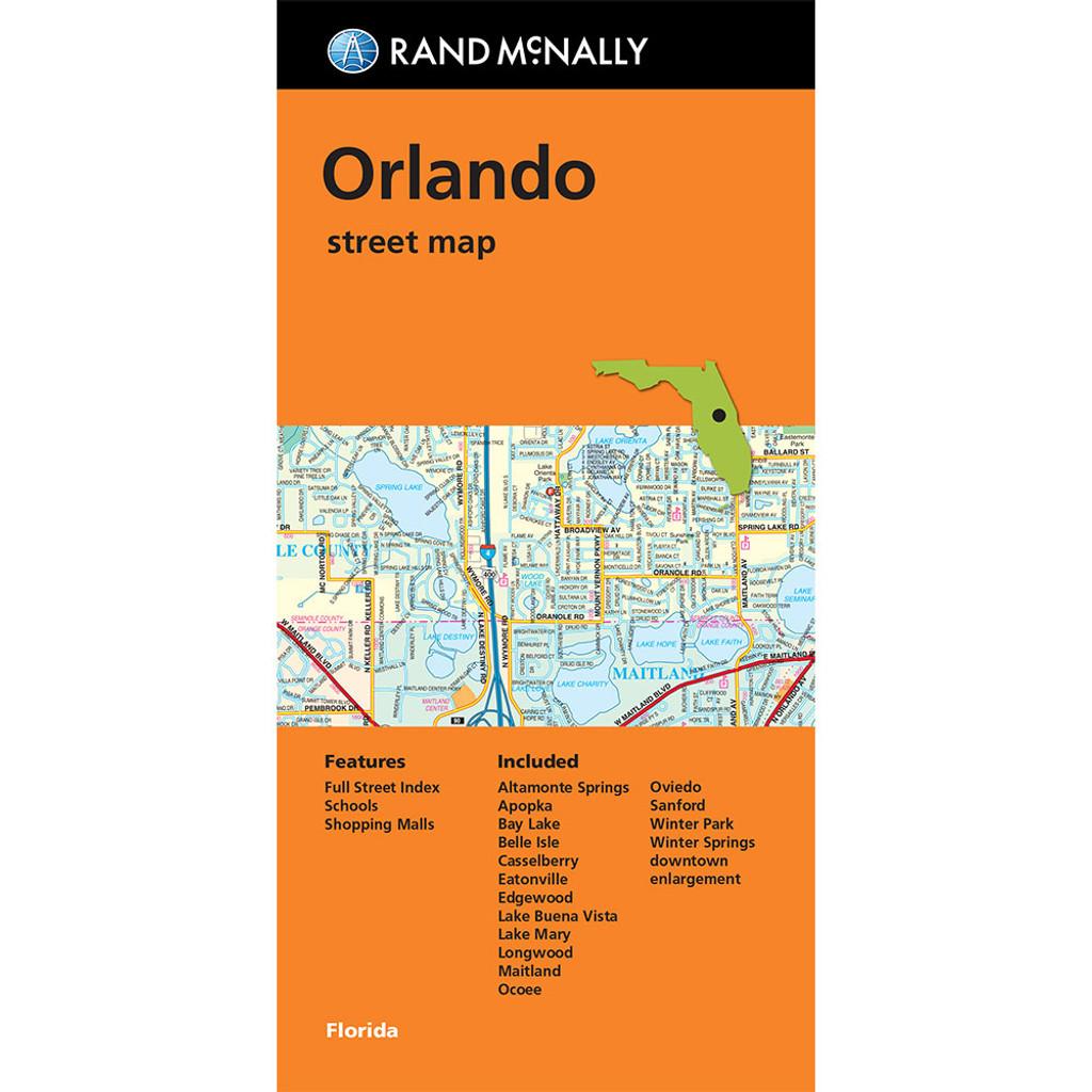 Map Orlando Street Map