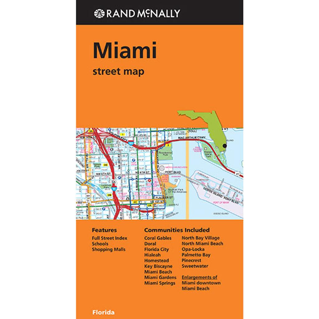 Map Miami Street Map