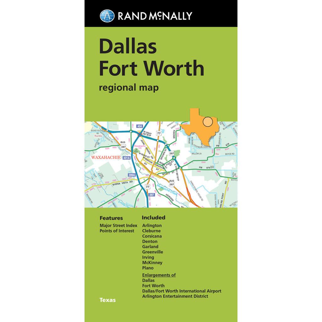Map Dallas Fort Worth Regional Map