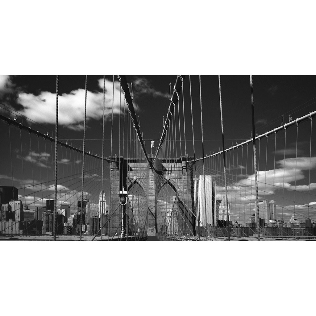 Brooklyn Bridge Wall Mural