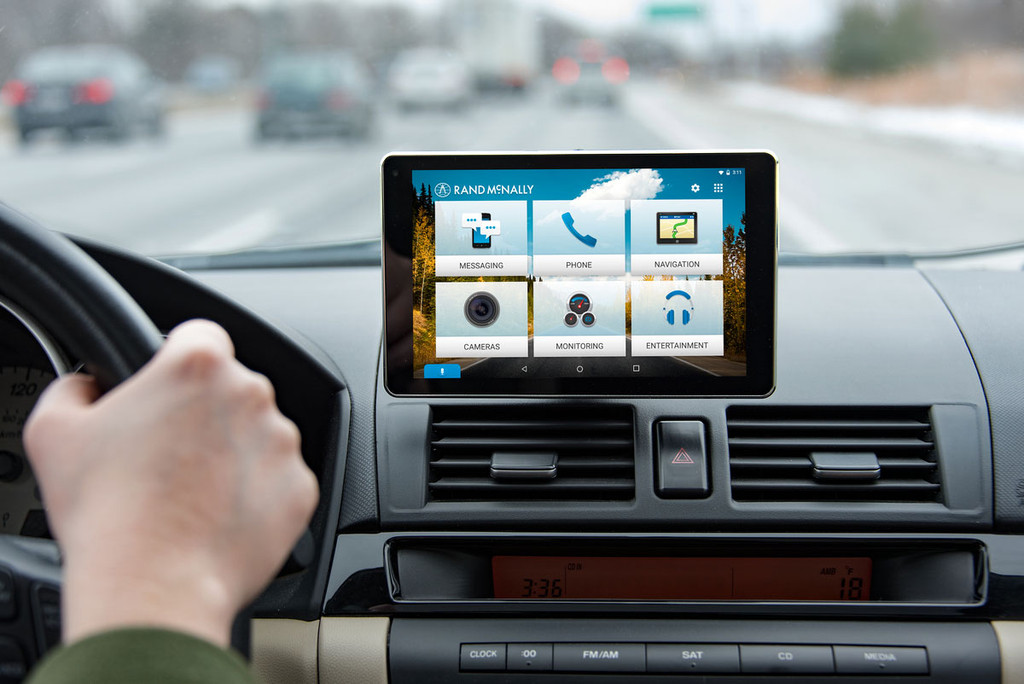 OverDryve™ 7 Connected Car Tablet with GPS