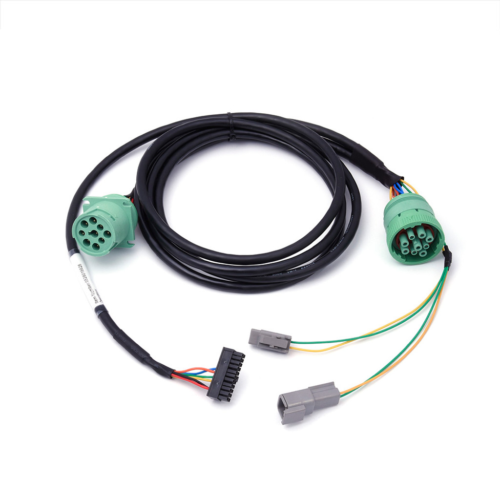 Freightliner Type 2 Green 9-Pin Y-Cable for HD 100 - Rand McNally Store