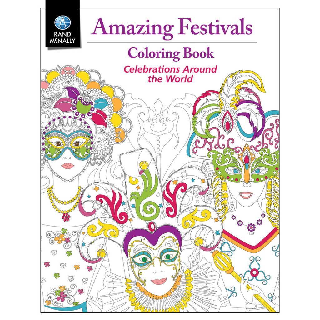 Amazing Festivals Coloring Book - Rand McNally Store