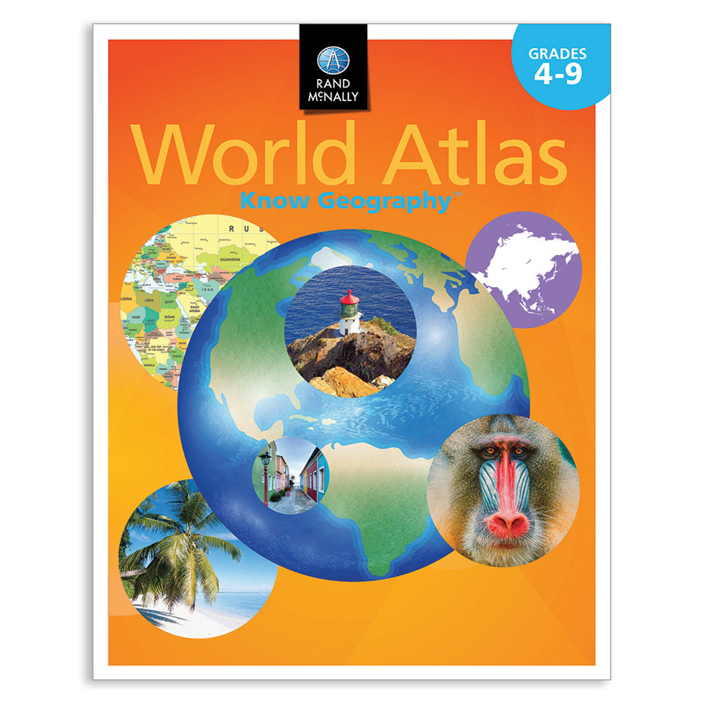Know Geography World Atlas Grades 4 9 Rand Mcnally Store