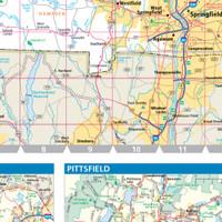 ProSeries Wall Map: Massachusetts State