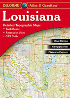 DeLorme Atlas & Gazetteer: Louisiana