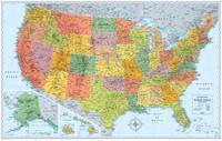 Signature Edition U.S. Wall Maps
