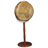 """Commander II 16"""" Desk/Floor Globe"""