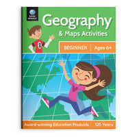 Geography & Maps Activities, Beginner   Ages 6+