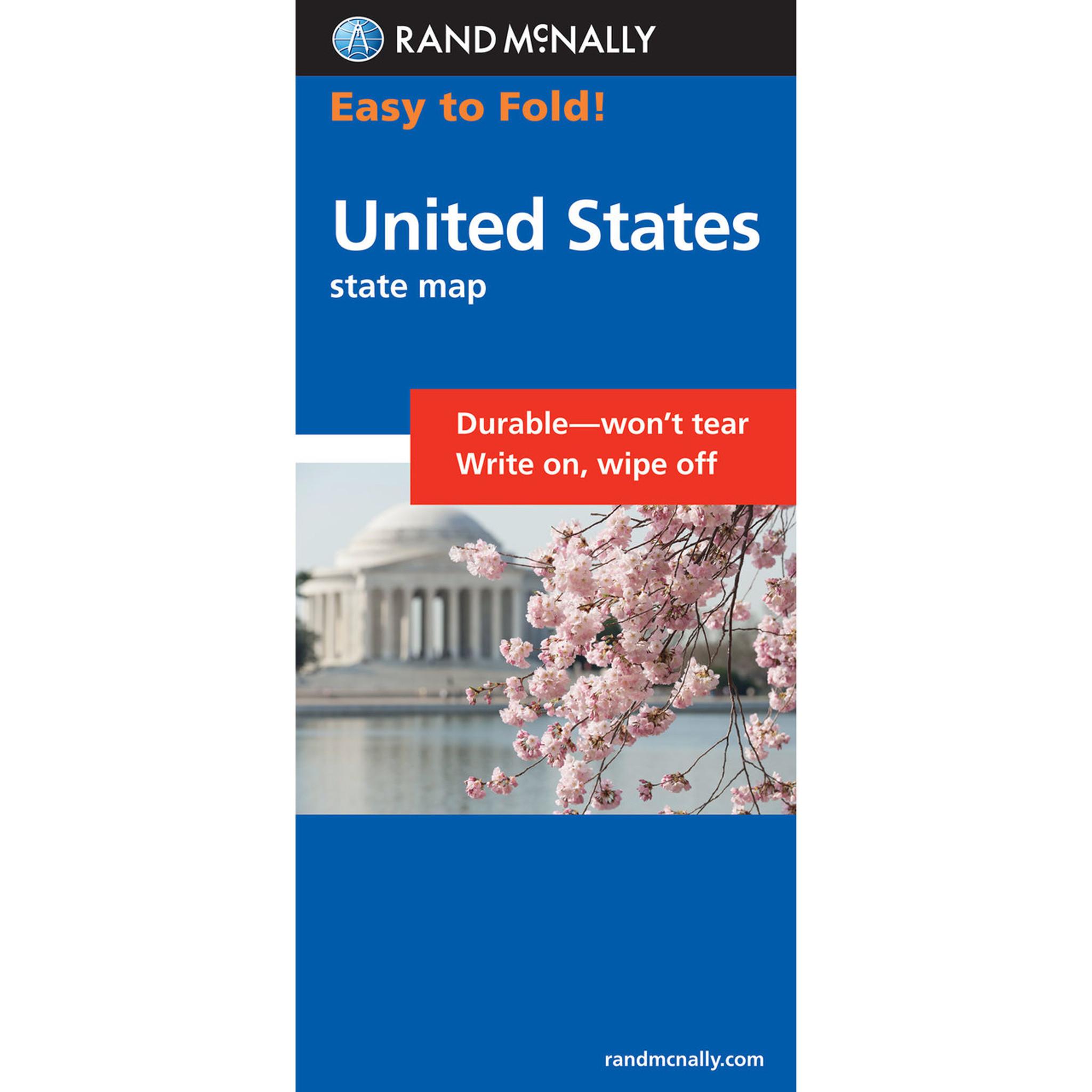 Rand McNally EasyFinder Map United States - Rand mcnally easy to fold maps