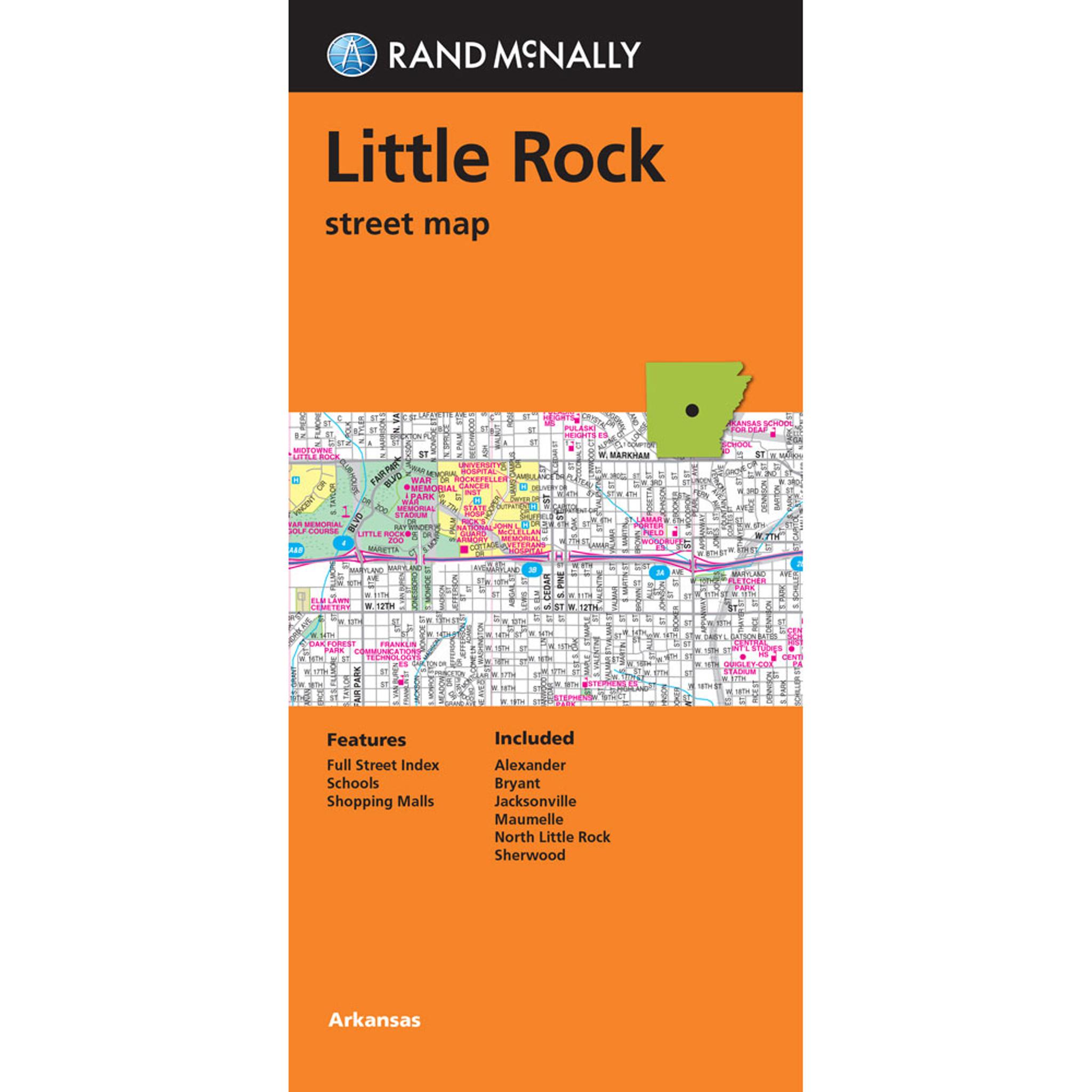 Folded Maps: Little Rock