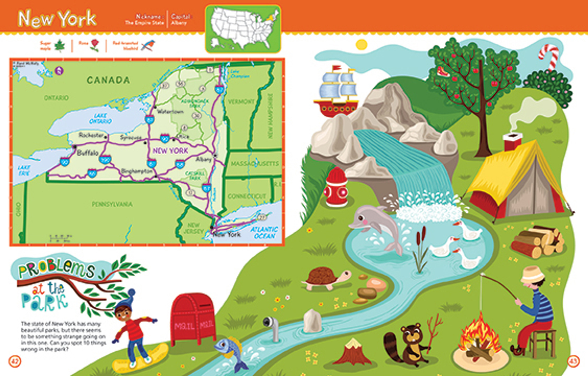 Rand McNally Kids Road Atlas - Kids road map