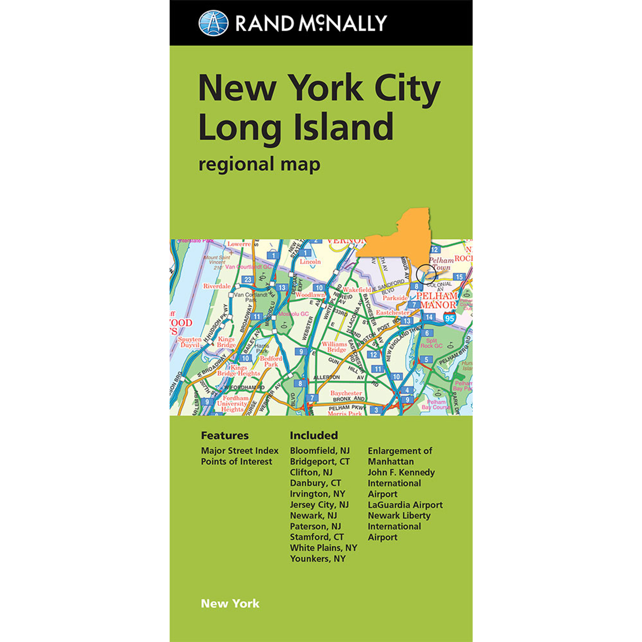 Folded Maps New York City Long Island - Nyc map
