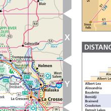 ProSeries Wall Map: Minnesota State