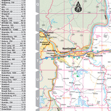 ProSeries Wall Map: West Virginia State