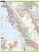 Thomas Bros. Alameda County Wall Map