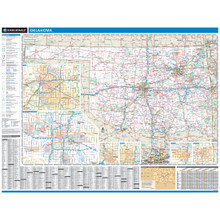 ProSeries Wall Map: Oklahoma State