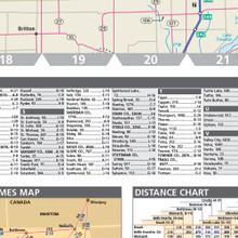 ProSeries Wall Map: North Dakota State