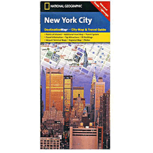 National Geographic Destination Map: New York City