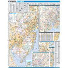 ProSeries Wall Map: New Jersey State