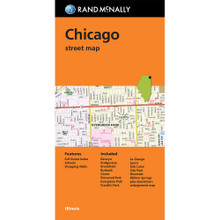 Folded Map: Chicago Street Map