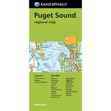 Folded Map: Puget Sound Regional Map