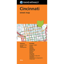 Folded Map: Cincinnati Street Map