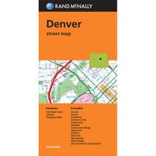 Folded Map: Denver Street Map