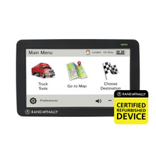 TND 730 Truck GPS - Rand McNally Certified Refurbished Device