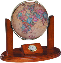 Executive Globe Clock