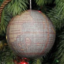 "4"" Globe Ornament"