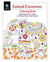 Animal Excursion Coloring Book