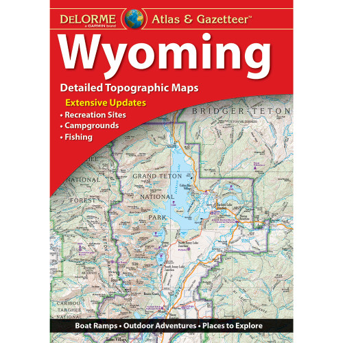 DeLorme Atlas & Gazetteer: Wyoming