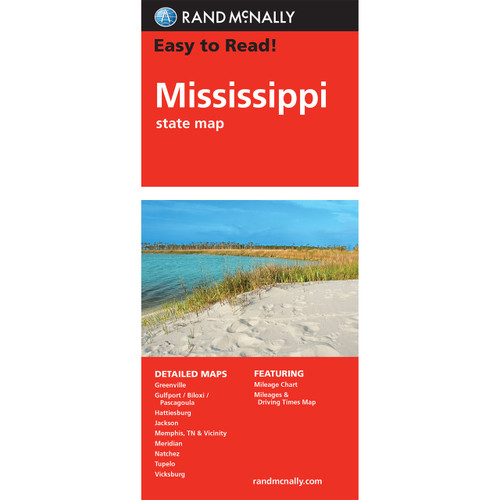Easy To Read: Mississippi State Map