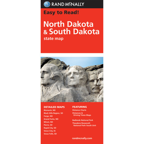 Easy To Read: North Dakota, South Dakota