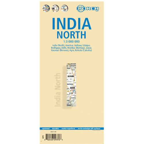 Borch Map: India North
