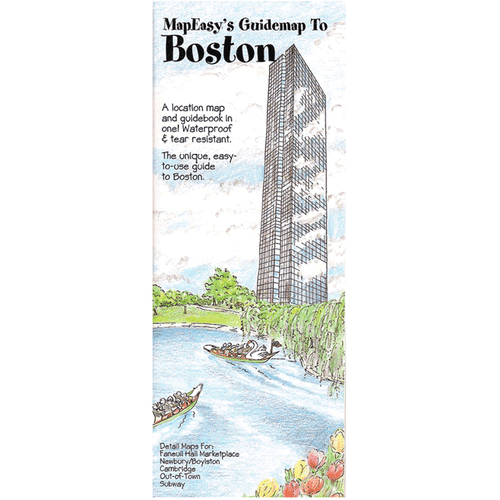 MapEasy's Guidemap: Boston