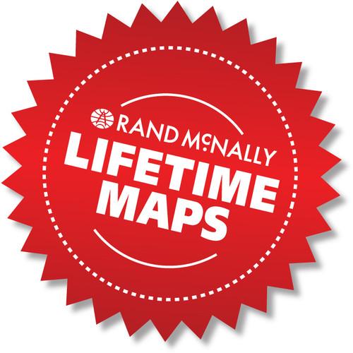 Lifetime Maps for Rand McNally TND 525