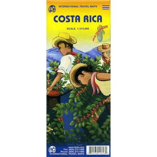 International Travel Map: Costa Rica