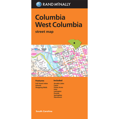Folded Map: Columbia and West Columbia
