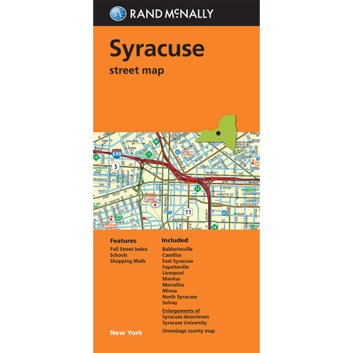 Folded Map: Syracuse Street Map