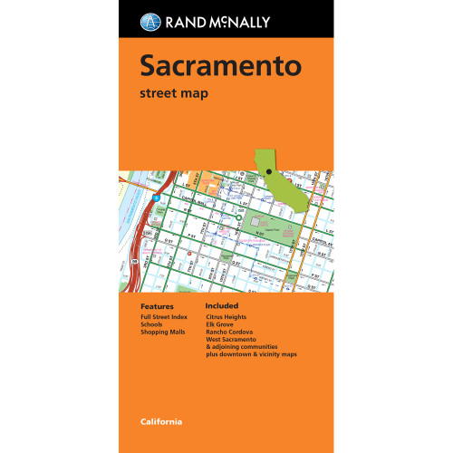 Folded Map: Sacramento Street Map