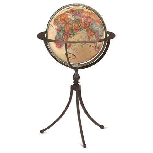 "Marin 16"" Floor Globe"