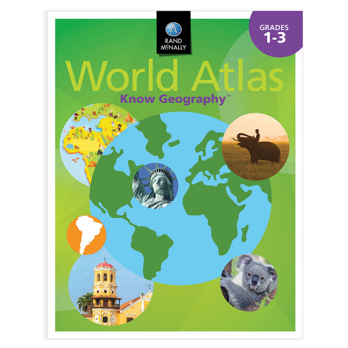 Know Geography™ World Atlas | Grades 1-3