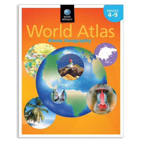 Know Geography™ World Atlas   Grades 4-9
